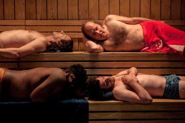 7 uomini a mollo - sauna
