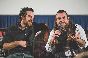 Il regista Michele Vannucci con l'attore Mirko Frezza