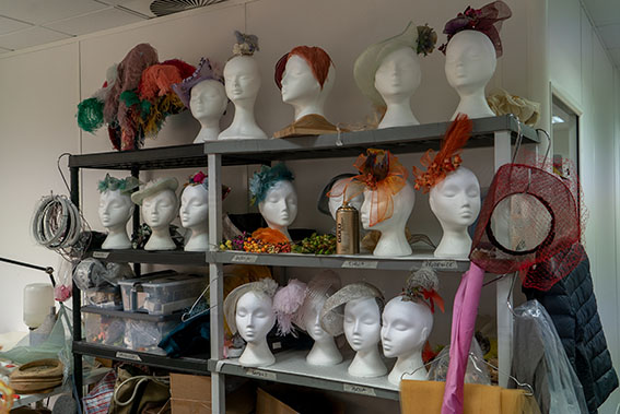 costume department of Bridgerton
