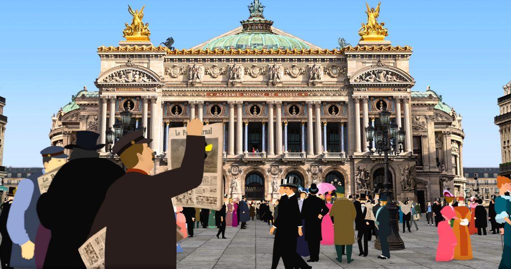 Dilili a Parigi - scena