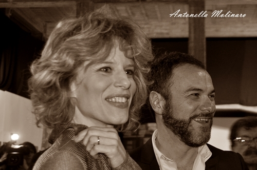 Sonia Bergamasco e Massimiliano Gallo