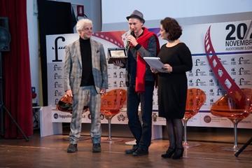 Alessandro Negrini premiato da Michele Placido