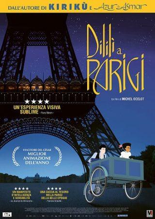 Dilili a Parigi poster