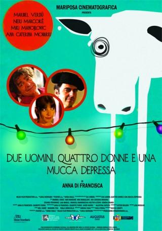 Due uomini, quattro donne e una mucca depressa di Anna Di Francisca