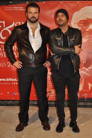 Edoardo De Angelis e Marco D'Amore