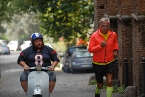 Teo Teocoli e Stefano Fresi in una scena del film