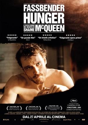 locandina ufficiale del film Hunger