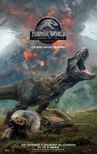 Jurassic World - locandina