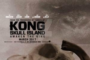 La sagoma di King Kong in 'Kong-Skull Island'