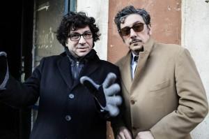 il regista Daniele Ciprì con Segio Castellitto