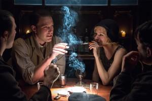 Ben Affleck e Sienna Miller, in una scena di 'La legge della notte'