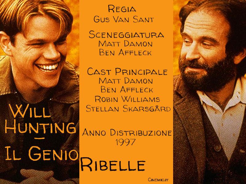 Locandina Cinemio WillHunting