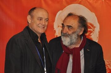 Massimo Bonetti e Alessandro Haber