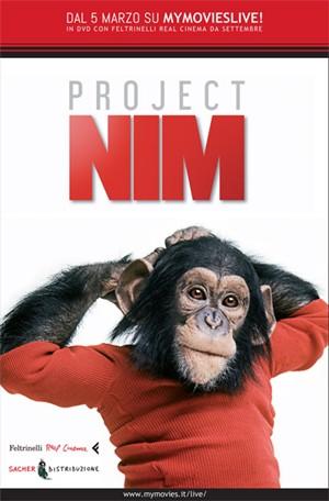 locandina ufficiale del film Project Nim