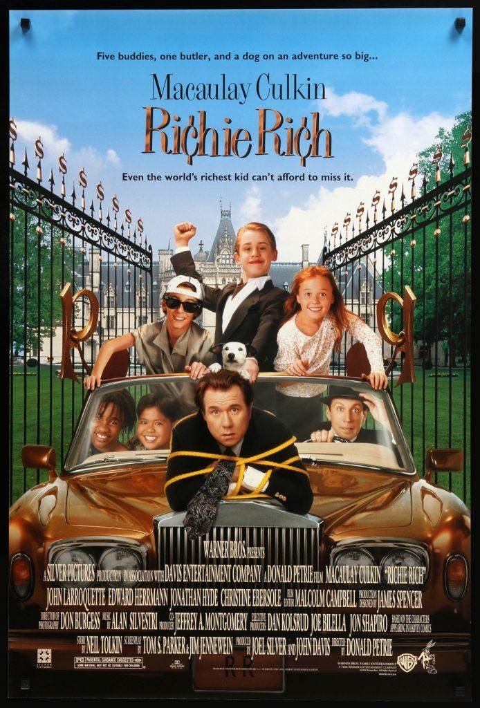 Locandina di Richie Rich - Il più ricco del mondo