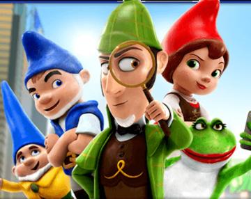 Sherlock Gnomes - cast