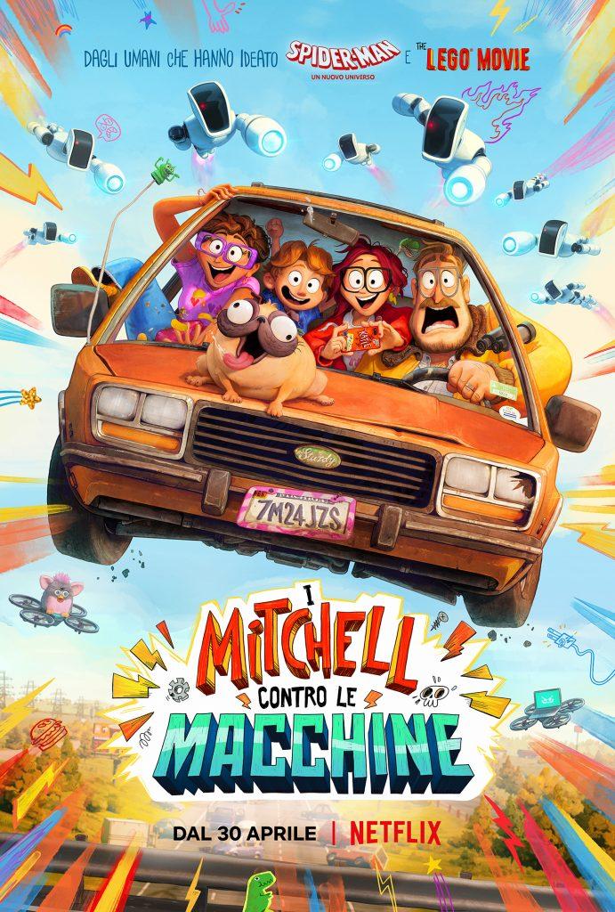poster del film i MItchell contro le macchine