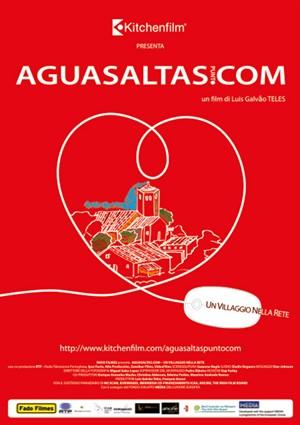 locandina ufficiale del film aguasaltas