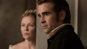 Kirsten Dunst e Colin Farrell in una scena del film 'L'inganno'