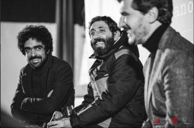 Paolo Tripodi, Marcello Fonte e Giuliano Miniati