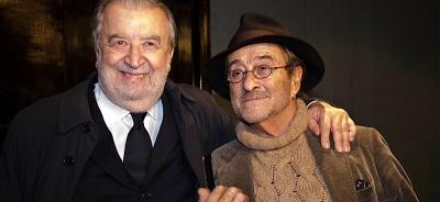 Pupi Avati e Lucio Dalla