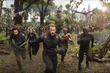 Avengers: Infinity War - scena