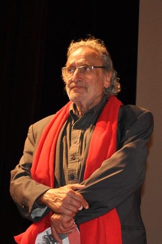 Il musicista Luis Bacalov
