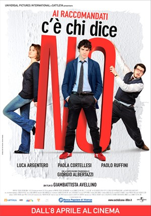 locandina ufficiale del film C'è chi dice no