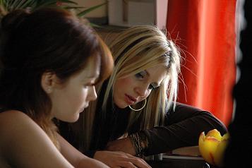 Cristiana Capotondi e Nicoletta Romanoff