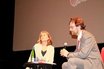 La lezione di cinema di Cristina Comencini. Foto di Francesco Guida