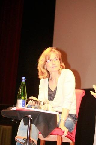 La scrittrice e regista Cristina Comencini. Foto di Francesco Guida