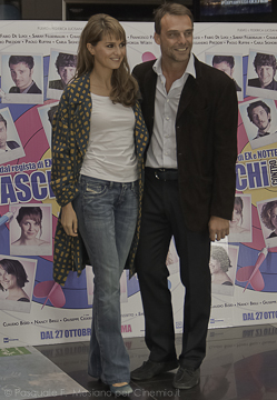 Paola Cortellesi e Alessandro Preziosi