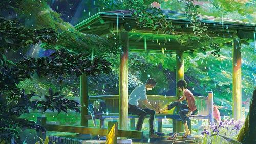 Takao e Yukino in una scena del film