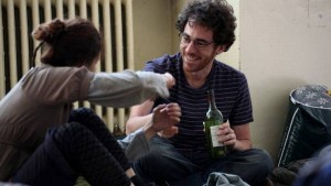 L'attore Elio Germano in una scena del film
