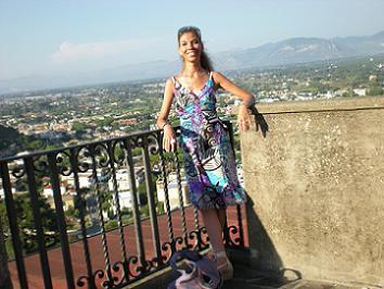 L'autrice del libro Chiara Ricci
