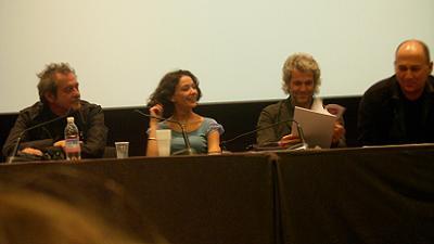 Da sinistra: Ennio Fantastichini, Nicole Grimaudo, Domenico Procacci e Ferzan Ozpetek