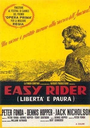 locandina ufficiale del film Easy Rider
