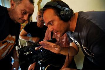 Il regista Emanuele Ruggiero