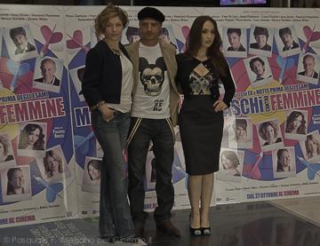 Sarah Felberbaum, Nicolas Vaporidis e Chiara Francini