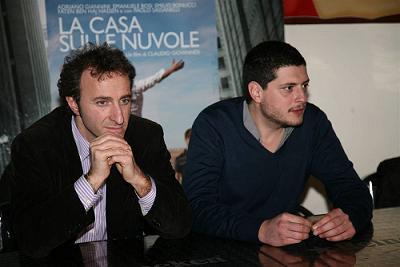 Michele Suma, direttore artistico del festival e Claudio Giovannesi
