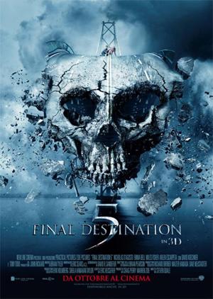 locandina ufficiale del film final destination 5