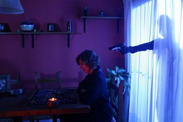 Una foto dal set