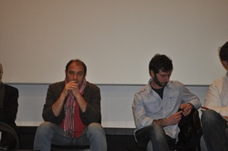 I registi Franco Fracassi e Massimo Lauria
