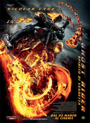 locandina ufficiale del film ghost_rider