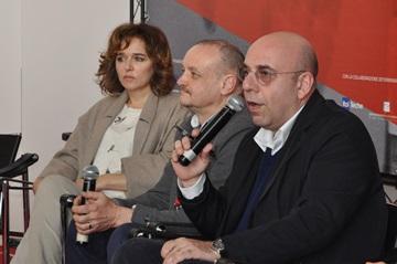 Valeria Golino, Marco Simon Puccioni e Paolo Virzì