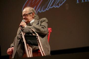 Il regista Ugo Gregoretti. Foto di Francesco Guida