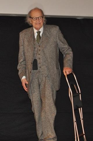 Il regista Ugo Gregoretti