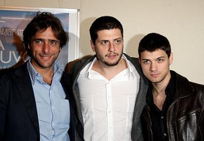 Da sinistra: Adriano Giannini, Claudio Giovannesi ed Emanuele Bosi