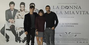 Luca Argentero, Valentina Lodovini e Alessandro Gassman
