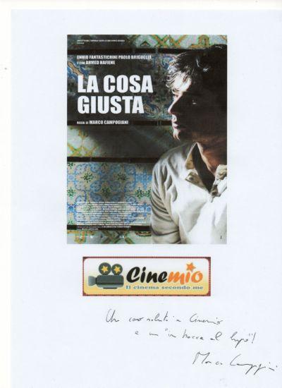 un saluto da Marco Campogiani ai lettori di Cinemio
